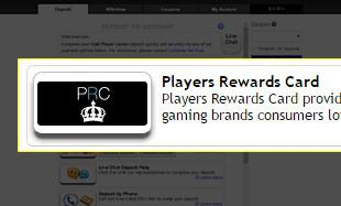 player rewards card casinos